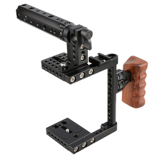 CAMVATE Camera Cage Rig w/Top Handle Tripod Mount Plate  C1175