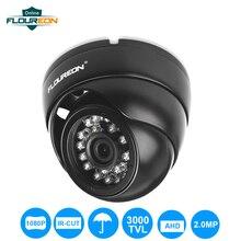 FLOUREON 1080P камера 2.0MP 3000TVL CCTV AHD аналоговая камера PAL Водонепроницаемая камера видеонаблюдения Купольная DVR камера ночного видения