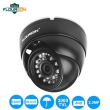 FLOUREON 1080P Camera 2.0MP 3000TVL CCTV AHD Analog Camera PAL Waterproof Surveillance Security Dome DVR Camera Night Vision