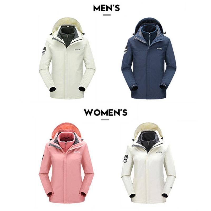 Outdoor Waterproof Snow Men Women Coats Warm Winter Ski Jacket Camping Skiing Windproof Thickening Wear Resistant Ski Suit waterproof camping camouflage couples two piece ski wear male thickening fleece ski wear winter jacket men outdoor jacket