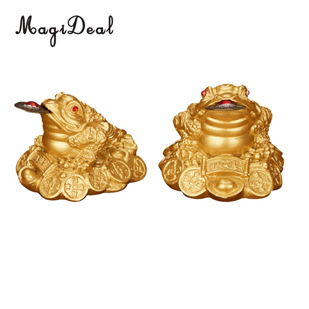 Lucky Money 3 Legs Toad Frog Chinese Feng Shui Decor Figurine Decor Car Dashboard Decor OrnamentLucky Money 3 Legs Toad Frog Chinese Feng Shui Decor Figurine Decor Car Dashboard Decor Ornament