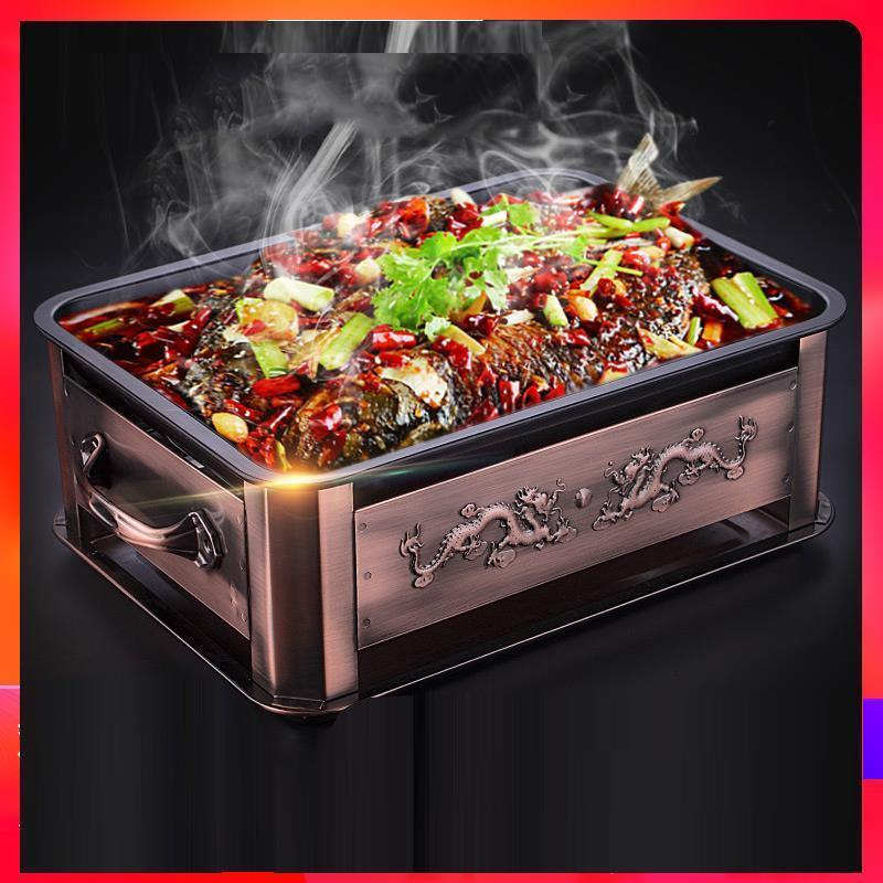 Korean Portatil Asador Portable Carbon Charcoal Bbq Parrilla barbacoa Grill For Outdoor Churrasco Seafood Fish Barbecue Plate in BBQ Grills from Home Garden