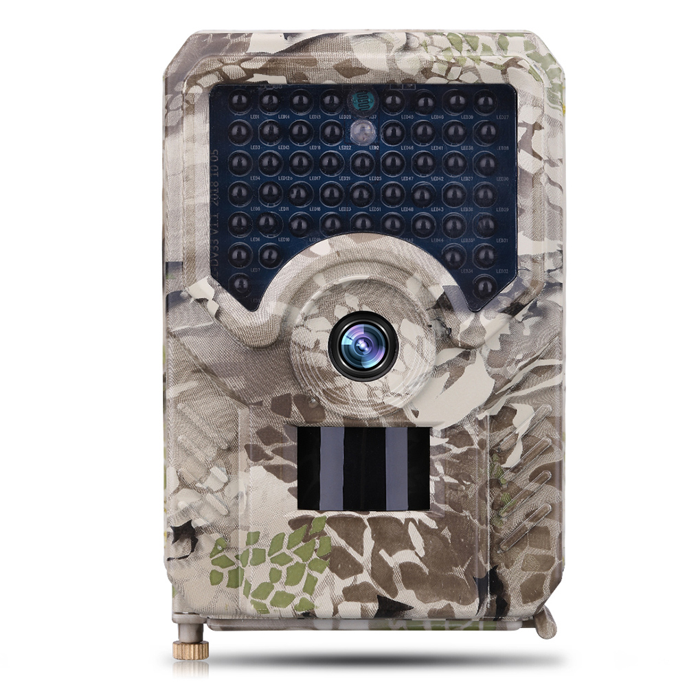 Outdoor <font><b>PR200</b></font> IP56 Waterproof Anti-theft Automatic Monitoring Hunting Camera 12MP 26/49pcs IR LED 120 Degree Night Vision Camera image