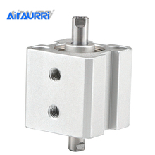 SDAD cylinder bore 12 16 stroke 5mm 10mm 15mm 20mm 25mm 30mm airtac type double sides out potentiometer dp 16 type double b50k 20mm rachis
