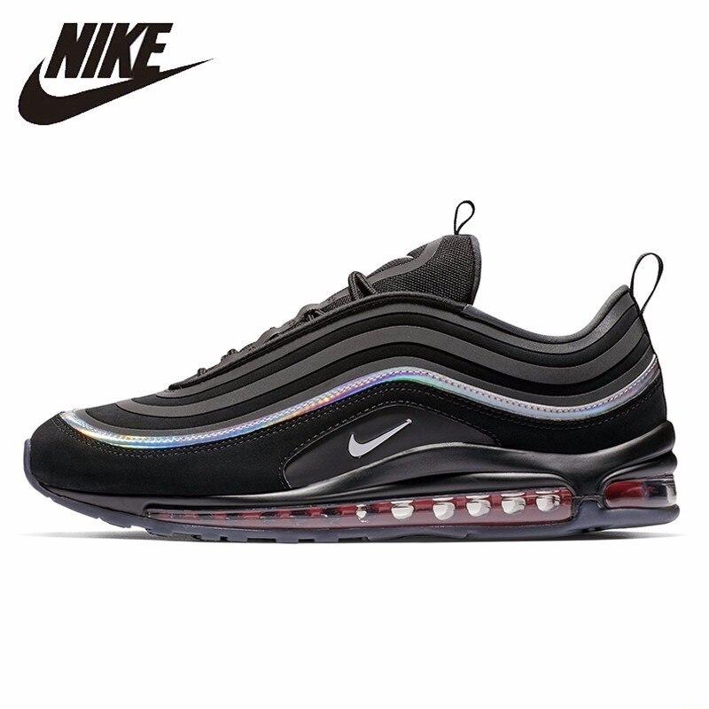 Nike Air Max 97 Ul 17 Ultra nueva llegada zapatos de tiempo de ocio cómodo zapatillas transpirable de deporte # BV6666-016 /106
