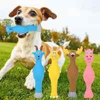 Haustiere Hund Spielzeug Unzerstörbar Squeaky Squeak Ton Chew Scratch Welpen Spielzeug