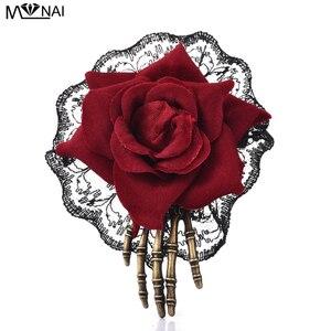 Steampunk Rose Hand Skeleton H