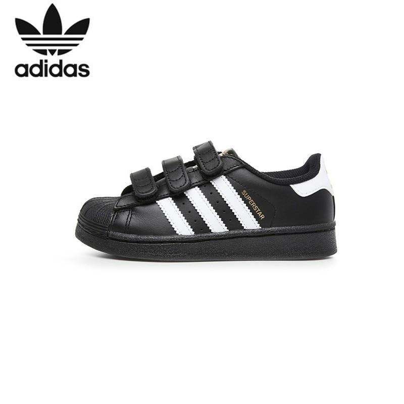 ADIDAS SUPERSTAR FOUNDATION Original Kids Skateboarding Shoes Breathable Light Children Sports Outdoor Sneakers #B26071