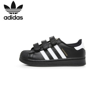 ADIDAS SUPERSTAR FOUNDATION Original Kinder Skateboard Schuhe Atmungs Licht Kinder Sport Im Freien Turnschuhe # B26071