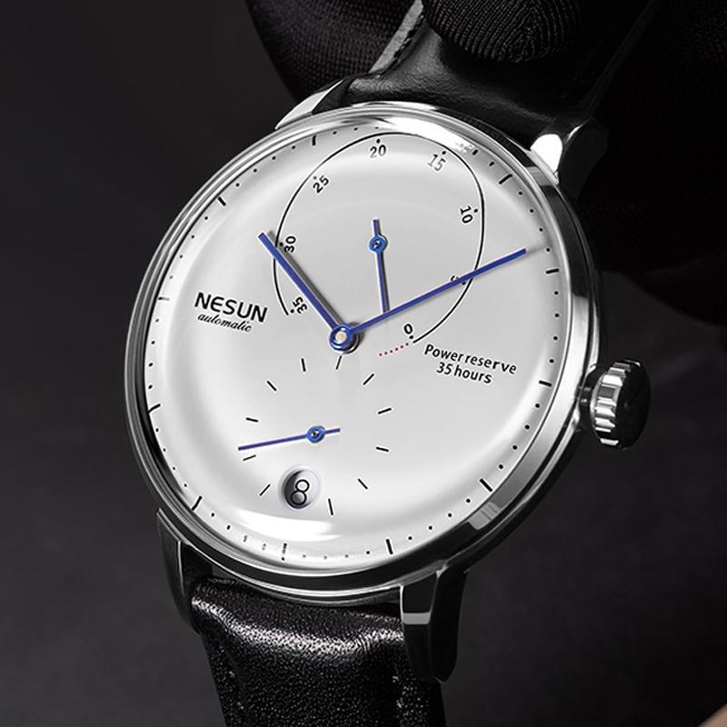 Luxury Brand Watch Men Automatic Mechanitch Men Watches Switzerland Men\'s Watch Sapphire Relogio Masculino Waterproof N9605-3
