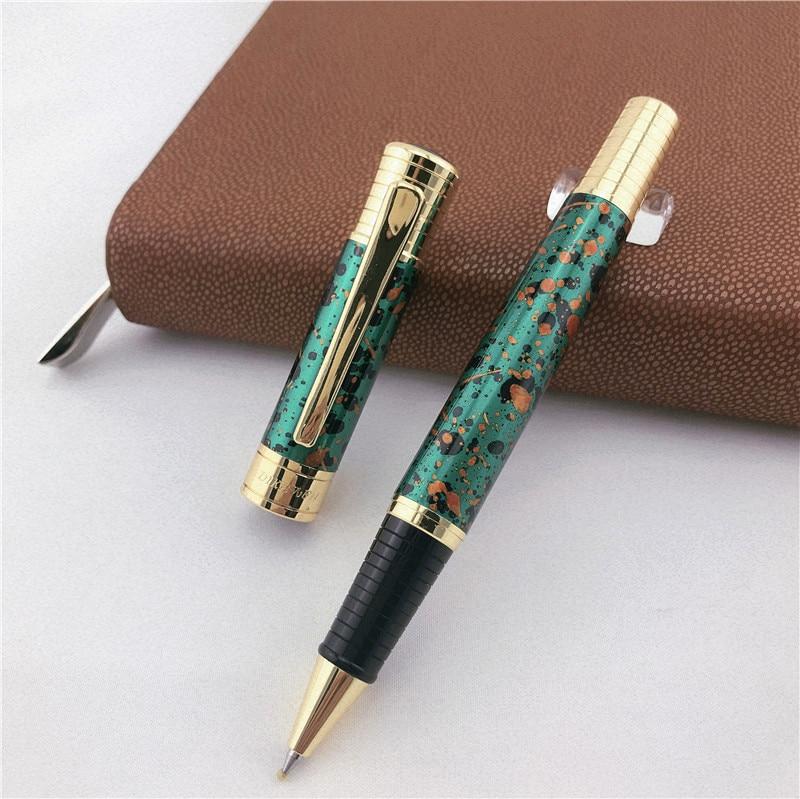 MONTE MOUNT Luxury Roller Ball Pen For Writing School Office Supplies Business Gift Metal Ballpoint Pens 008