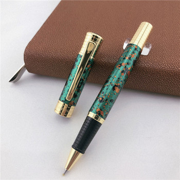 MONTE MOUNT luxury roller ball pen for writing School Office supplies business gift metal ballpoint pens 008 2pcs luxury monte mount chocolate leather pen case for only one fountain pen or roller ball pen free shipping