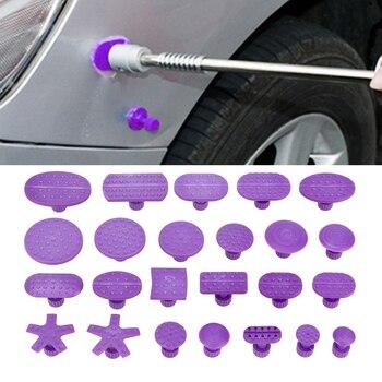 Herramienta de eliminación de abolladuras sin pintura, junta de succión, herramienta de reparación de abolladuras de coche, agarrador de abolladuras de coche con ventosa, 24 unids/bolsa