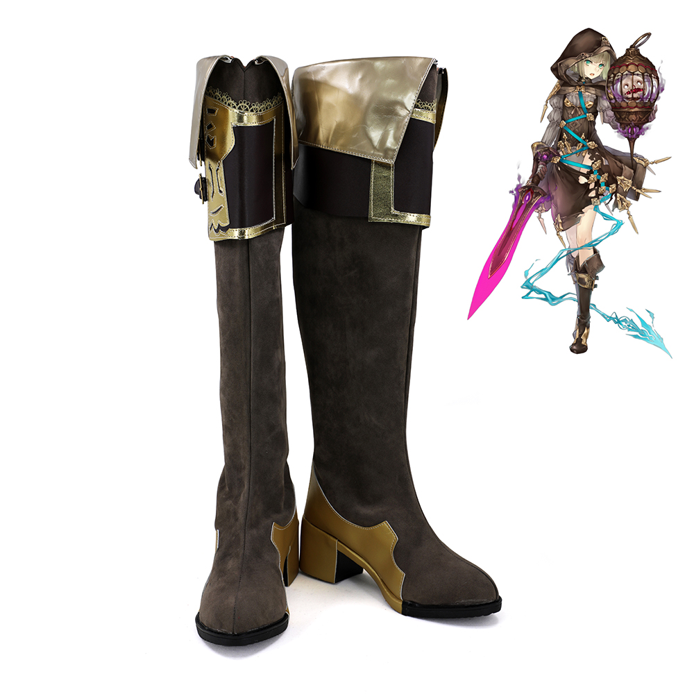 SINoAlice Breaker Hansel Gretel Retro Cosplay Shoes Women Boots