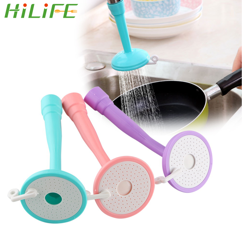 HILIFE Children's Guide Faucet Extender Kitchen Gadget Nozzle Sprayers Adjustable Baby Hand-washing Device Sink Faucet Extension