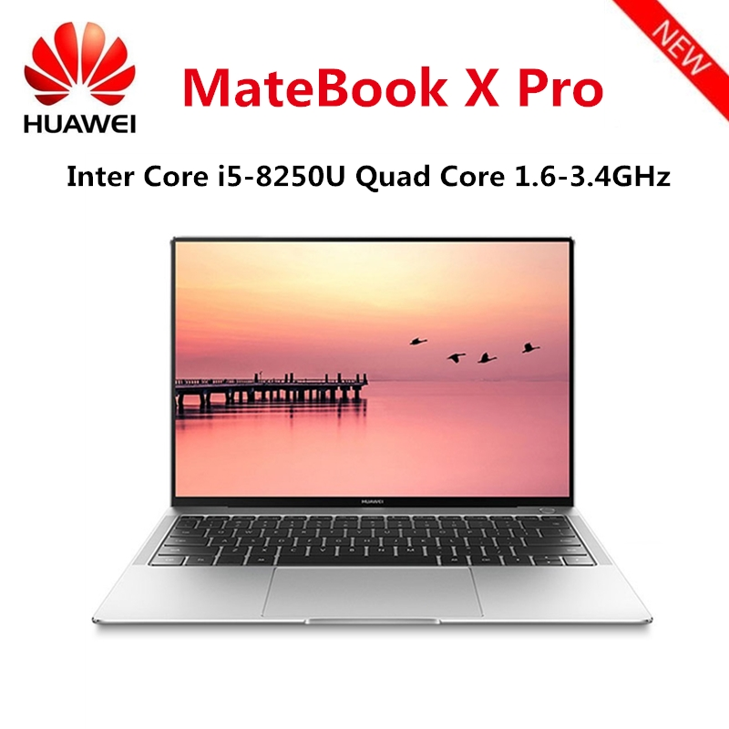 Original HUAWEI MateBook X Pro Laptop Intel Core i7 – 8850U 16GB RAM 512GB SSD NVIDIA Geforce MX150 Touch Screen Windows 10 OS