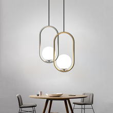 Vintage Industrial LED Pendant Lights Dining Room Living Room Cafe Bedroom Bar American Hoop Glass Ball Pendant Lamps Luminaire modern 2015 new american style vintage industrial lamps restaurant bedroom living room cafe lights chandelier personality