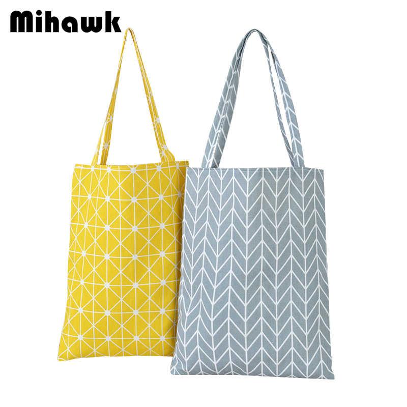 d178f957acbb Mihawk Lattice Pattern Shoulder Shopping Bags Women Portable Carrying Eco  Reusable Grocery Bag Supermarket Pouch Accessory Stuff