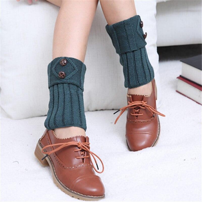 1 Paar Nette Weiche Spitze Frauen Mädchen Winter Beinlinge Acrylon Häkeln Hohl Knit Boot Socken Toppers Cuffs Unterwäsche & Schlafanzug