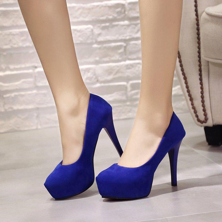 Puntiagudo Sexy Pie Mujeres 2019 Oficina 11 Zapatos Las Para Tacones azul Negro Rebaño Del Cm De Boda Bombas Mujeres Sapato Femenino rojo Mujer Dedo rzUpq