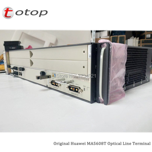 Image 5 - Shipping by DHL Huawei MA5608T GPON OLT with 1*MCUD 1G + 1*MPWC DC Power Board, MA5608T Optical Line Terminal