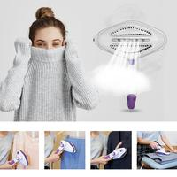 Mini Steam Iron Handheld Electric Garment Laundry Iron Dry Cleaning Brush Steamer Drying Ironing Machine Home Appliance