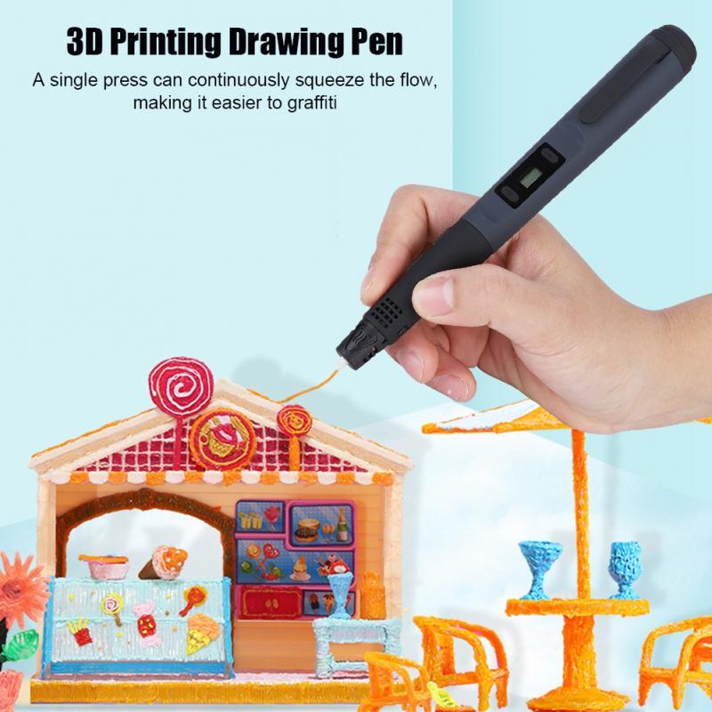 3d Afdrukken Tekening Pen Crafting Modellering Filament Abs/pla Printer Tool Set Voor Student/kinderen