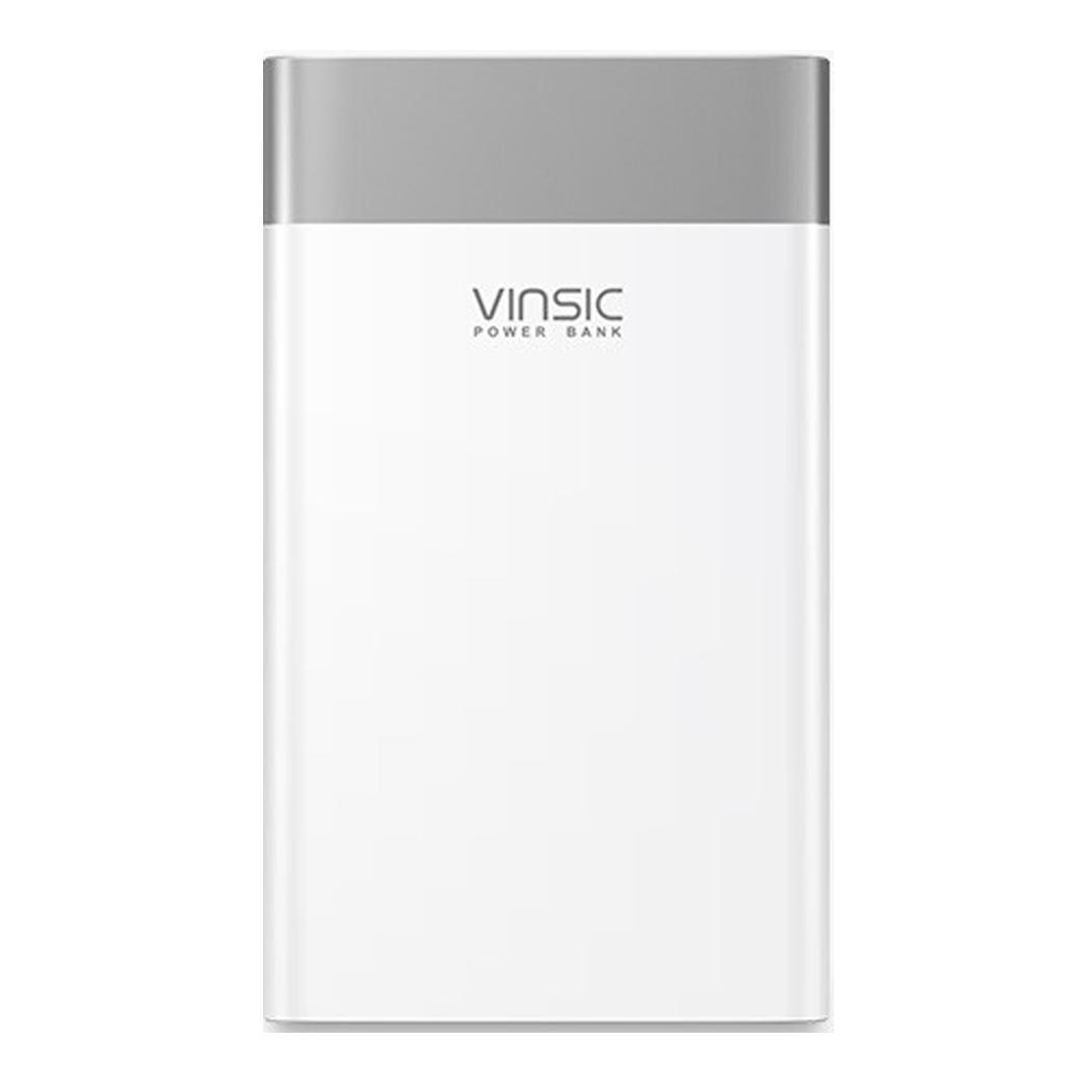 Vinsic 20000 mAh batterie externe Charge rapide 3.0 deux voies Charge rapide type-c double USB chargeur de batterie pour iPhone X 8 8plus XiaomiVinsic 20000 mAh batterie externe Charge rapide 3.0 deux voies Charge rapide type-c double USB chargeur de batterie pour iPhone X 8 8plus Xiaomi