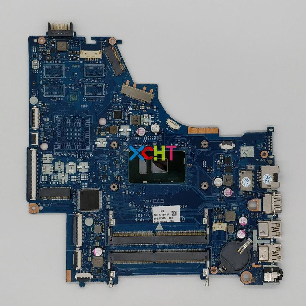 924751 601 924751 001 LA E801P UMA w i5 7200U CPU for HP Laptop 15 BS Series 15T BR000 NoteBook PC Motherboard Mainboard-in Laptop Motherboard from Computer & Office