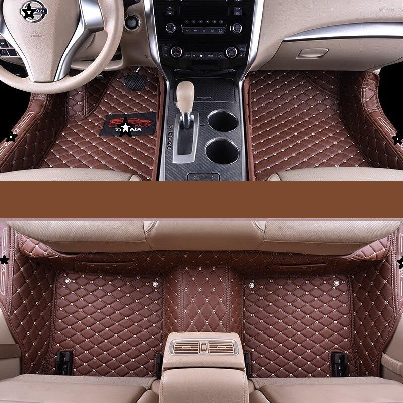 Protector Automovil Accessories Modified Auto Interior Decoration Modification Decorative Carpet Car Floor Mats For Honda Crider Interior Accessories