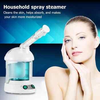Table Facial Steamer Aromatherapy Mist Sprayer Fogger Facial Spa Moisturizing Whitening Device Skin Care Salon Beauty Equipment