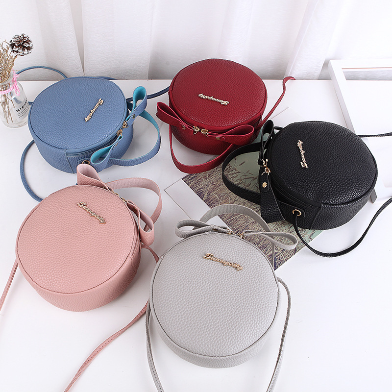 Ladies Hand Bags Round Leather Women Shoulder Bag Candy Color Crossbody Bags For Women Clutch Purses And Handbags Bolsa FemininaLadies Hand Bags Round Leather Women Shoulder Bag Candy Color Crossbody Bags For Women Clutch Purses And Handbags Bolsa Feminina