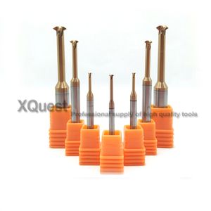 Image 3 - XQuest Tin Solid Carbide Thread Milling Cutter Pith 0.3   0.6 0.4   0.8 0.5   1.0  CNC Single Teeth thread Mill Cutters P 0.75 2