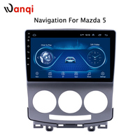 2.5D full touch Screen Android 8.1 Car Radio DVD Player for Mazda 5 2005 2010 GPS Glonass Navigation Audio Video SWC