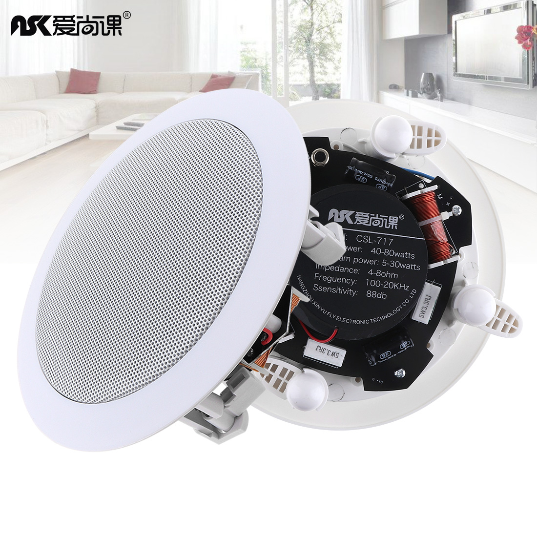 Consumer Reports Ceiling Speakers Oupushi 8 Inch Ceiling