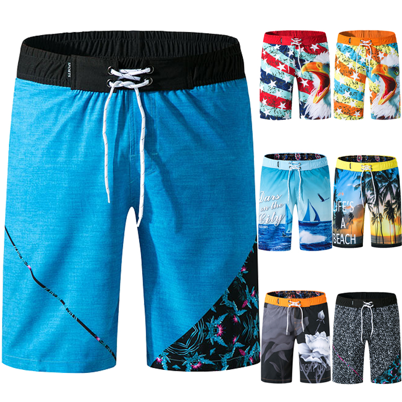 Plus 3XL Swimwear Men Rashgard Mens Swim Shorts Summer Beach Shorts Boxer Swimming Trunks Men Swimsuit High Quality Board Shorts