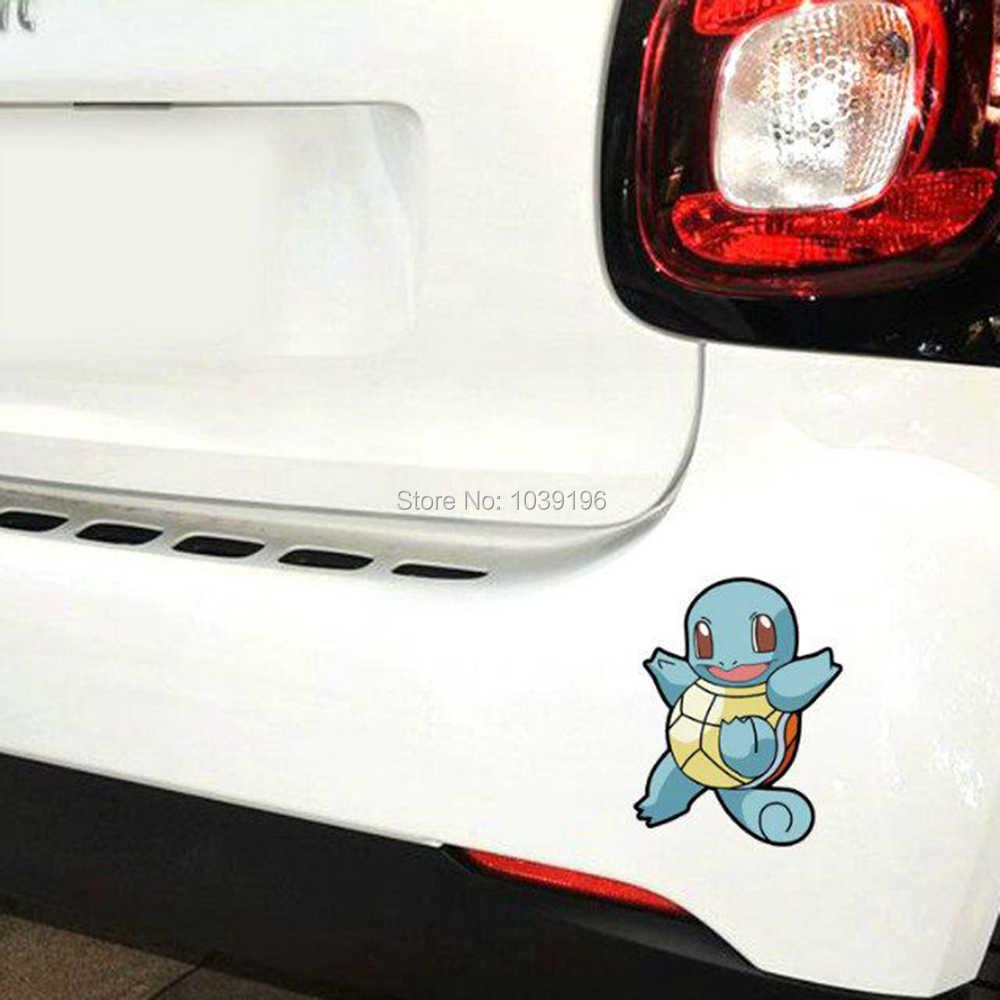 Nouveau style mignon belle bande dessinée Animal de compagnie Pikachu Pokemon voiture autocollant réfléchissant corps entier autocollants décalque vinyle étanche
