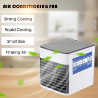 USB Air Conditioning Fan Mini Air Cooler Refrigeration Mobile Portable Air Conditioner 3 speed Air Cooler Furniture Accessories