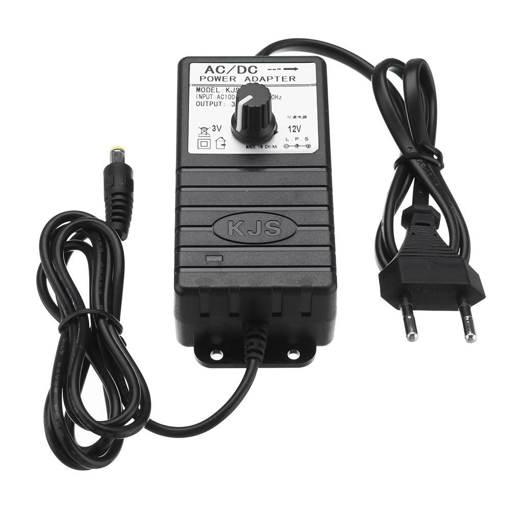 US Plug / EU Plug <font><b>3V</b></font>-12V 3A/3-24V 2A Power <font><b>Adapter</b></font> Adjustable Voltage AC/DC <font><b>Adapter</b></font> Switching Power Supply image