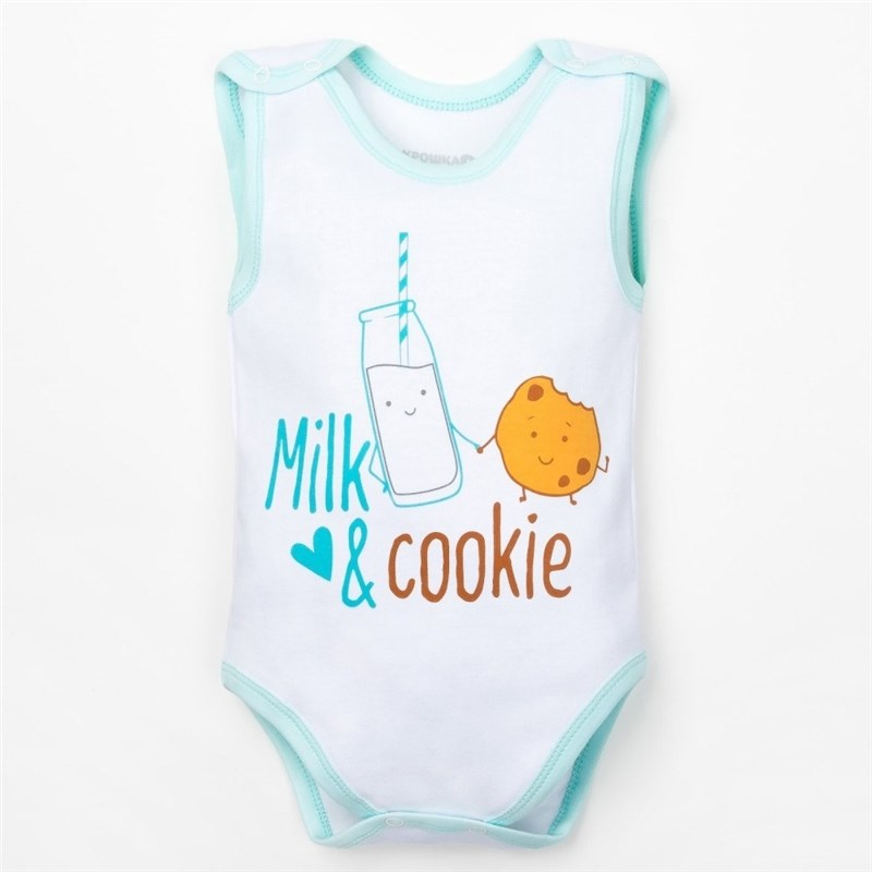 Bodysuit baby Friends bel growth 3 18 month 100% cotton