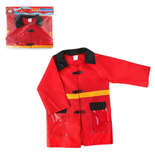 Durable Fabric Design for Little Kids' Fireman Costume Fireman Dress Up Suit Pretend Role Play Firefighter Gifts for Kids(China)