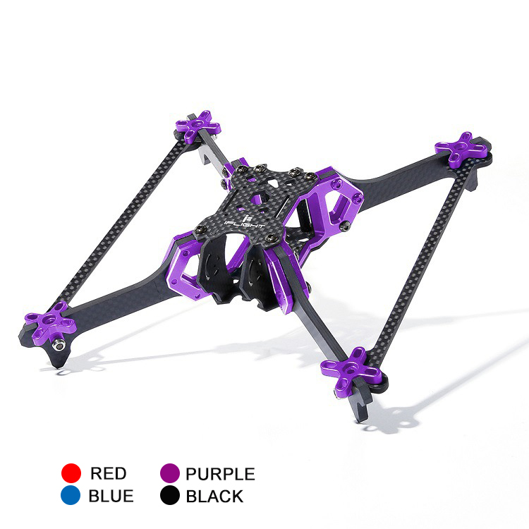 iFlight Vertigo VX5 V2 5 '' Drone Frame 200mm Wheelbase 4mm Arm CNC 20 * 20mounting hole HX Type Frame Kit for FPV Racing Drone