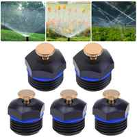10pcs 1/2 inch DN15 Thread Garden Sprinklers Plastic Lawn Watering Sprinkler Head Irrigation Agriculture Sprayers Nozzles