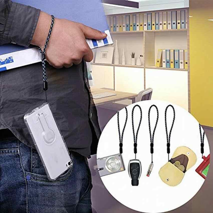¡Novedad! Correa de cordón de mano para la muñeca para teléfono iPhone 7 8X6 unidades Flash USB llaves llaveros DSLR soportes para cámara GoPro