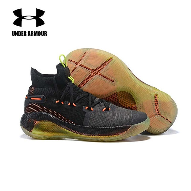 9d09da97 Under Armour Men Curry 6 Basketball Shoes High Top New Curry Sports Shoes  Zapatillas Hombre Deportiva Cushion Sneakers US 7-12