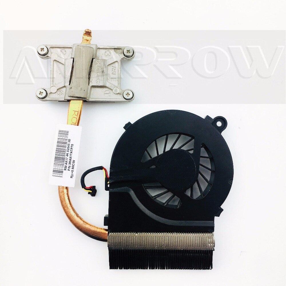 Original Free Shipping Cooler For HP CQ42 CQ62 G42 G62 Cooling Heatsink With Fan 595832-001 597788-001 597780-001 3MAX1TATP60