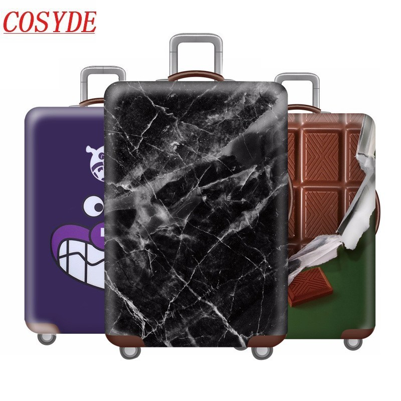 Washable Foldable Luggage Cover Protector Fits 18-21Inch Suitcase Covers Bear And Deer Is Beer