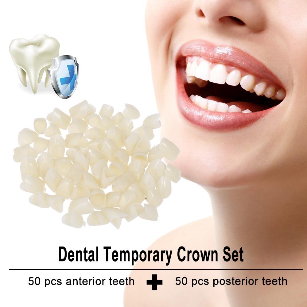 Dolce 2 Packs Pro Dental Temporanea Corona Dentale Anteriors Anteriore Posteriore Molare Prodotti Dentista Dentale Materiali Di Colore Della Natura