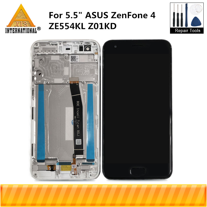 Axisinternational For 5.5 ASUS ZenFone 4 ZE554KL Z01KD LCD Display Screen+Touch Panel Digitizer With Frame For ZE554KL Z01KDAxisinternational For 5.5 ASUS ZenFone 4 ZE554KL Z01KD LCD Display Screen+Touch Panel Digitizer With Frame For ZE554KL Z01KD