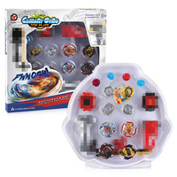 Beybladein Burst 4D Set 4PCS With Launcher Arena Bay Blade Metal Fight Battle Fusion Classic Toys For Children